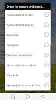 Screenshot of Auto Ajuda Bíblica