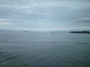 Photo: First view of Stephens Passage after rounding Cape Fanshaw.