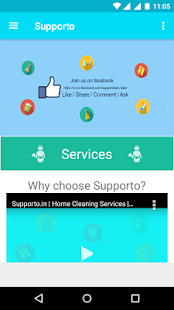 Supporto - Home Cleaning App- screenshot thumbnail