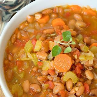 Instant Pot Pinto Bean Soup.