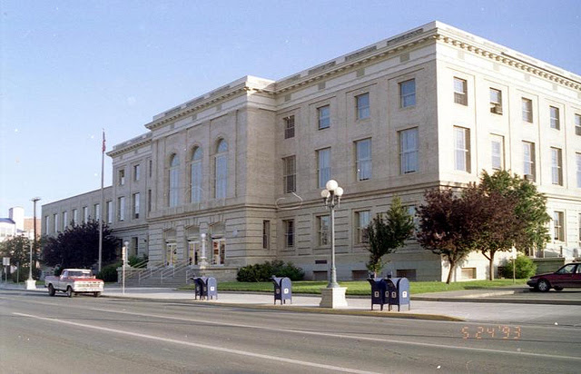 Great Falls, MT post office, 1993