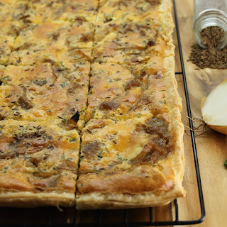 German Onion Tart – Zwiebel Kuchen