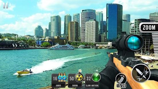 Seçkin keskin nişancı 3D - Sniper Shot Ekran Görüntüsü
