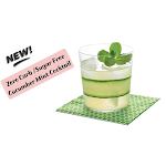 Keto Cucumber Mint Cocktail - No Carbs
