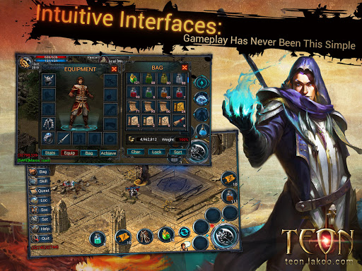 Teon - No pay-to-win ARPG (Unreleased) Games (apk) free download for Android/PC/Windows screenshot