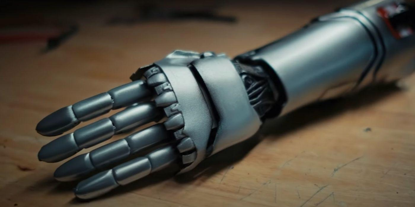 Cyberpunk 2077: Johnny Silverhand's Prosthetic Arm Is Now a Real Thing