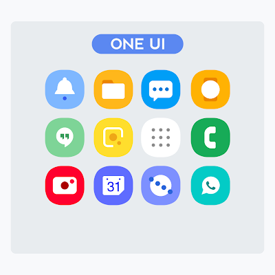 OneUI - Icon Pack : S10 Screenshot Image