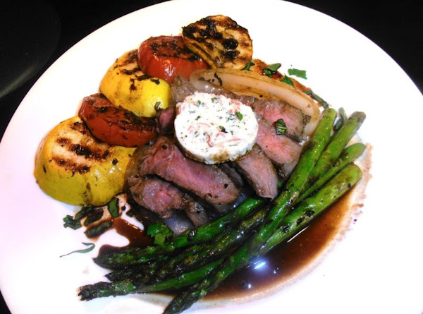 Lovin' Me Some Grilled Steak And Veggies! Recipe