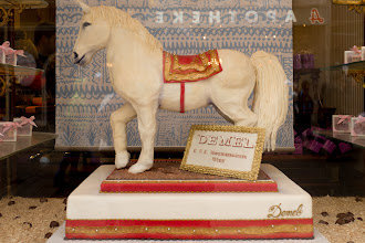 Photo: Edible Lipizzan.