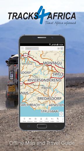 Tracks4Africa Guide screenshots 1