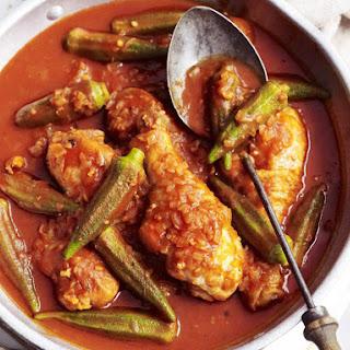 Chicken and Okra Stew.