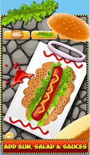 American Hotdog Maker - Kitchen Fever - náhled