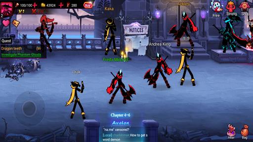 League of Stickman 2-Online Fighting RPG 1.2.7 screenshots 15