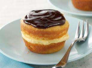 Mini Boston Cream Pies Recipe