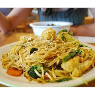 Tofu & Vegetable Stir Fry.