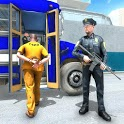 US Police Prisoner Transport Bus Driving Simulator icon