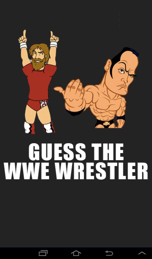 Скриншот Guess The Wrestler Quiz