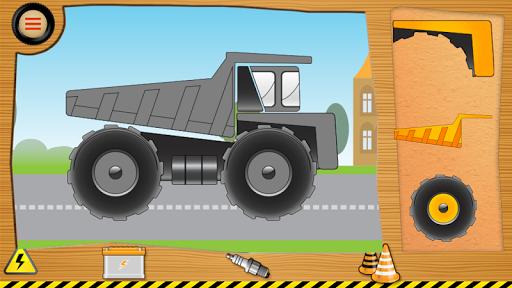 パズル車とトラック