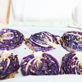 Red Cabbage Steaks.