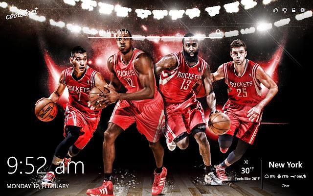 Houston Rockets HD Wallpapers NBA Theme