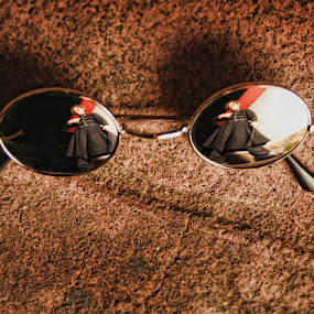 Reflection by Nallely Martinez - Artistic Objects Clothing & Accessories ( lentes, reflejo, silver, plateado, lens )