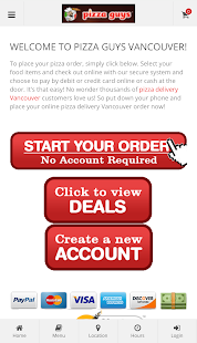 Pizza Guys Vancouver- screenshot thumbnail