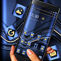 Blue Metallic Business Launcher Theme 💙 icon