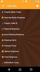 1500 Ringtones Unlimited- screenshot thumbnail