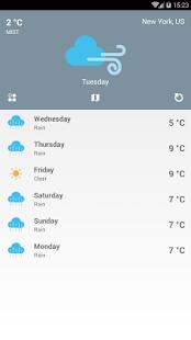 Weather Pro - náhled