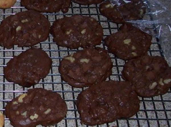 Chewy Brownie Cookies Recipe