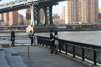 Photo: In the Brooklyn Bridge Park.