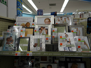 Photo: Then I headed to the photo album section since I wanted to put our almost ready collage in a frame.