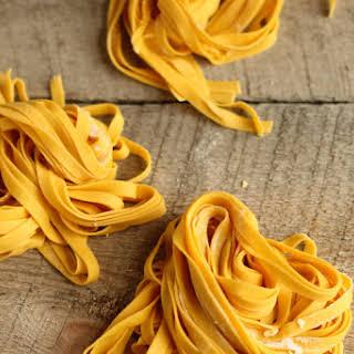 Basic Homemade Pasta.