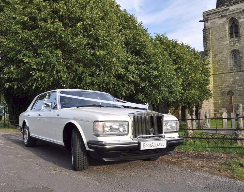 Rolls-royce Silver Spirit 11 Hire Burton On Trent