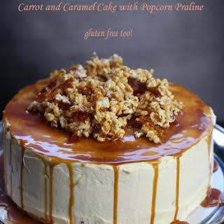 Carrot and Caramel Cake.