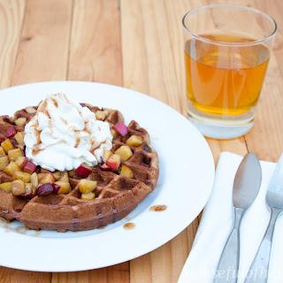 Caramel Apple Pie Waffles