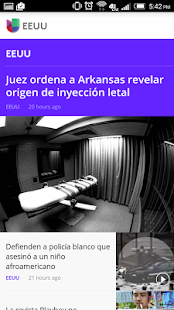 Noticias Univision- screenshot thumbnail