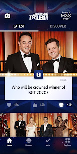 Britain S Got Talent 2020 Apps On Google Play