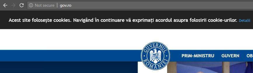 Trang web không an toàn của Chrome 68