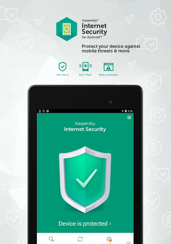 Kaspersky Mobile Antivirus: AppLock & Web Security screenshots