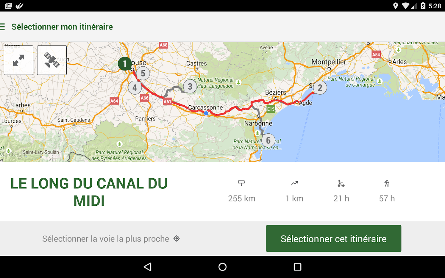 Canal du Midi- screenshot