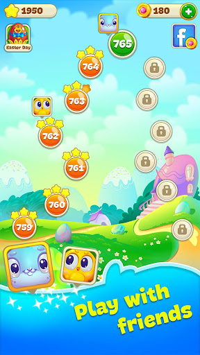 Easter Sweeper - Chocolate Bunny Match 3 Pop Games 2.1.1 screenshots 4