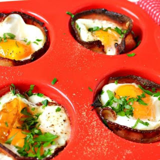 Egg and Bacon Cups Recipe