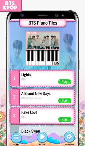 BTS Army Piano Magic Tiles 1.1 screenshots 1