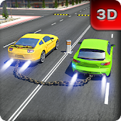Chained Cars 3D Racing Rival Game : Break Chain ⛓️