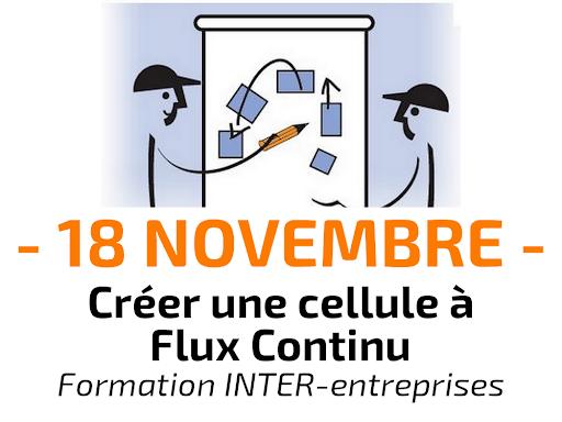 Formation Créer une cellule à Flux Continu - INTER-entreprise lean