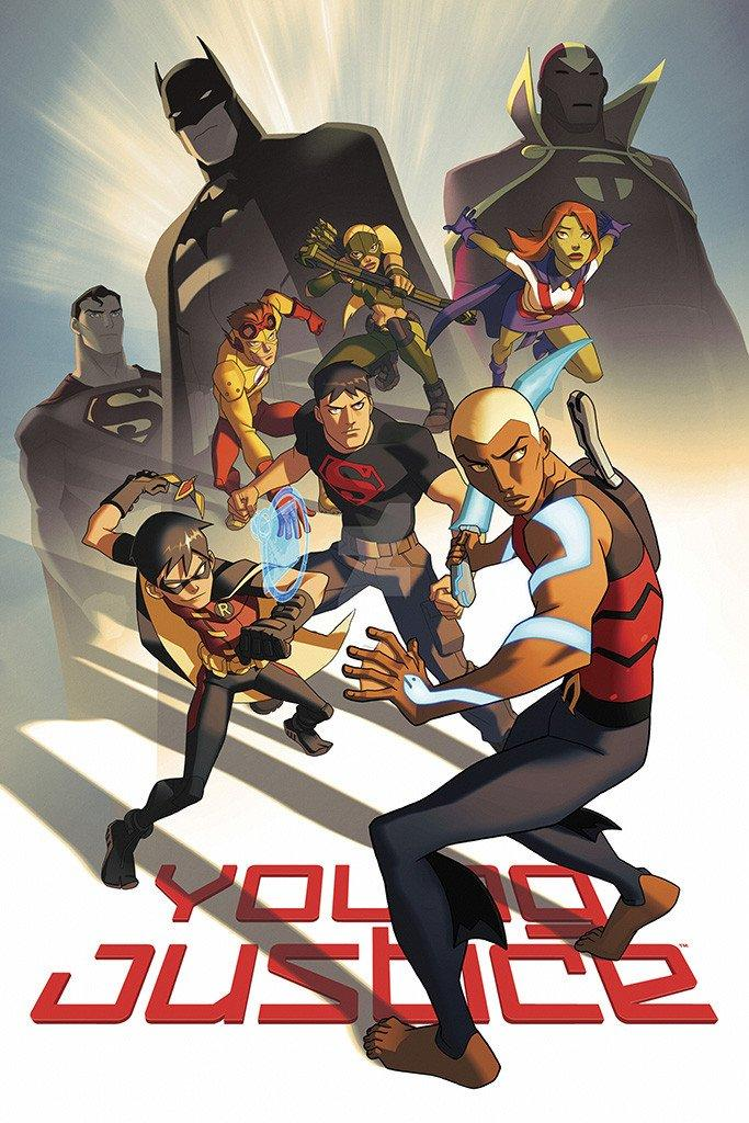 Young Justice Invasion American Animated Series Poster | Young justice  league, Young justice invasion, Young justice