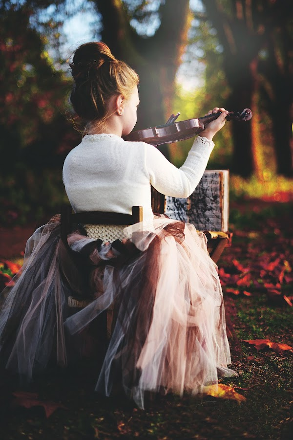 Autumn Sonata by Lazarina Karaivanova - Babies & Children Child Portraits