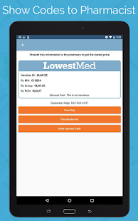 LowestMed Pharmacy Discounts- screenshot thumbnail