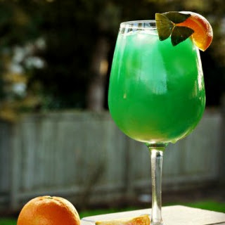 Emerald Sunrise {Cocktail}.
